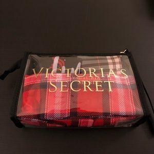 Victoria's Secret Travel Set: 3 Bags & Makeup Case